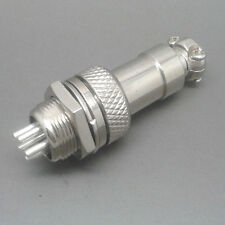GX12 Screw Type Electrical Socket Connector Aviation plug Male And Female 5Pin