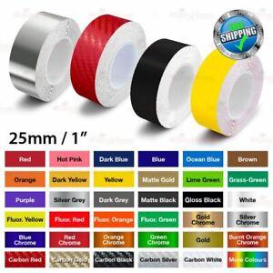 "25mm 1"" Roll PIN STRIPE Car Model Body PinStriping DIY Decal TAPE Vinyl Sticker"