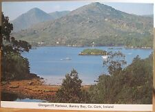 Irish Postcard GLENGARRIFF HARBOUR Bantry Bay West Cork Caha Ireland 4x6 Cardall