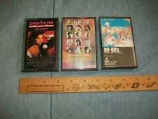 Gloria Estefan / Go Go's / Bangles - (3) Cassette Tapes FREE SHIP