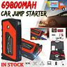 69800mAh Car Jump Starter Portable USB 12V 600A Power Bank Battery Booster Clamp