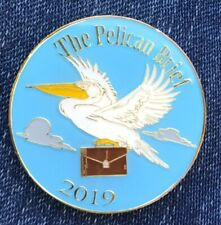 2019 Krewe Of Bacchus Multi Color Pelican Brief Float Mardi Gras Doubloon