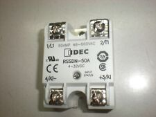 Idec RSSDN-50A Solid State Relay - 50 Amp