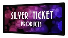 """STR-169110-HC Silver Ticket 110"""" Fixed Frame 16:9 Projector Screen High Contrast"""