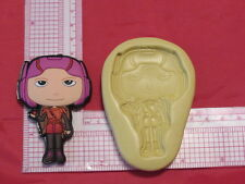 Hero Character Silicone Push Mold #180 Candy Cookie Cake Resin Clay Fondant