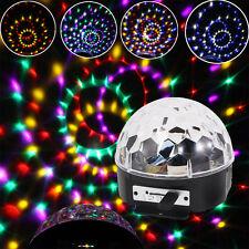 20W RGB LED MP3 DJ Club Pub Disco Party Crystal Magic Ball Stage Effect Light