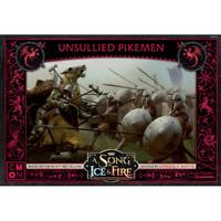 Targaryen Unsullied Pikemen A Song of Ice & Fire ASOIAF Miniatures CMON