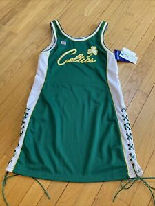 Hardwood Classics NBA Boston Celtics Jersey Women's Dress Size Large