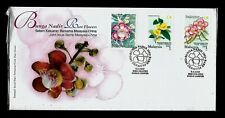 [KKK] 2002 MALAYSIA FDC - RARE FLOWERS JOINT ISSUE CHINA POST