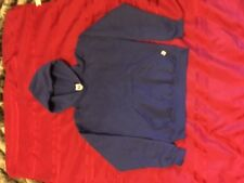 new fleece with hood russell athletic youth size l