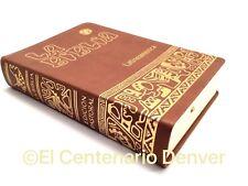 La Biblia Latinoamericana -Pasta Simil Piel Español Latinoamerica Catolica Bible