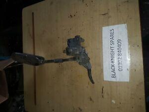 HONDA VT250 VT 250 LEFT HAND MIRROR AND MASTER CYLINDER GENUINE