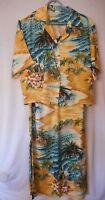 Tozzi Sz 1 Hawaiian Tropical Beach Jacket Dress Skirt 2 piece possibly Vintage