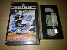 It Lives Again Warner Big Box Ex Rental Pre Cert VHS Pal Rare