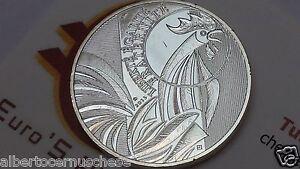 10 euro 2015 Ag fdc FRANCIA Gallo coq hahn rooster петух france frankreich 公鸡