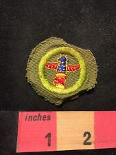 Vtg Boy Scout MERIT BADGE Type Patch (Thunderbird ? Totem Pole ? )89YC