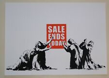 BANKSY - SALE ENDS  - SCREEN PRINT