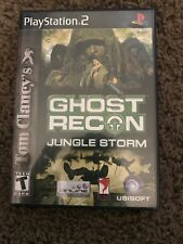 Tom Clancy's Ghost Recon: Jungle Storm (Sony PlayStation 2, 2004)