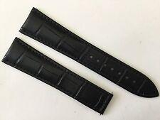 New 22MM Black Soft Padded Strap Band Bracelet For Omega Speed & Seamaster