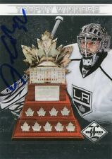 12/13 Panini Limited Trophey Winners AUTO #TW-46 Jonathan Quick 7 of 99
