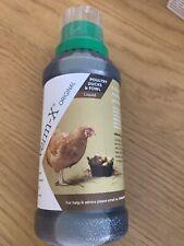 Verm-X Liquid For All Poultry Ducks Fowl Chicken 250Ml Wormer Anti Parasite SALE