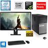 Fortnite Gaming PC Desktop Computer i5 16GB 180GB SSD Win10 WIFI + Monitor KB