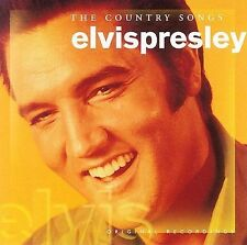 The Country Songs CD Elvis Presley Guitar Man Old Shep Make World Go Away Rock