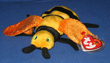 TY BUZZIE the BEE BEANIE BABY - MINT with NEAR MINT TAG - SEE PICS