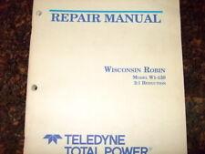 WISCONSIN ROBIN ENGINE W1-150 REPAIR SERVICE MANUAL