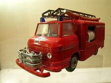 TEKNO DENMARK 459-231 VOLVO FALCK ZONEN FIRE TRUCK RED SCALE 1:50