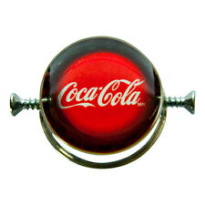 Amazing Walter Schluep Coca-Cola Sterling Silver Ring; Rare and Collectible