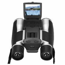 Digital Binoculars Camera 12x52 Video Photo Record 5MP Bird Sport Theatre Watch