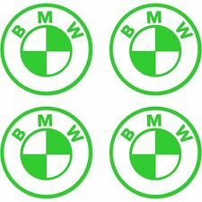 4 Sticker Autocollant BMW MotorSort M3 M5 Vert b02