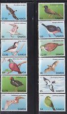 Samoa 1142-53 Birds Mint NH