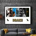 DRAKE Album Cover Collection Paper Posters or Canvas Framed Wall Art