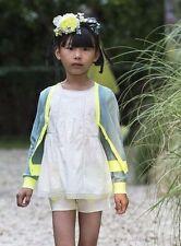 Bonpoint cardigan in cotone neon Bambino 3 anni