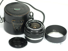 Olympus 35mm F2.8  Prime Lens for  Olympus OM Film Cameras (8803BL)
