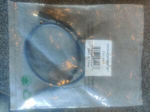 Monoprice 1.5ft USB 2.0 A Male to Mini-B 5pin Male Cable w/ Ferrite Core Gold Pl