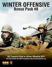 ASL Winter Offensive 2017 Bonus Pack #8,Scenario Pack for Advanced Squad Leader
