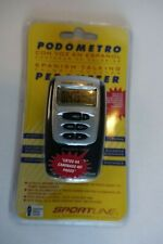 Sportline Spanish Talking Calorie Counting Pedometer - NEW