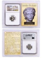 Roman Empire Silver Denarius of Faustina Jr. (AD 147-175/6) NGC CH XF SKU40215