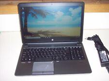 "HP Probook 655 G1/AMD A6-5350M 2.9ghz/8GB/500GB HD/15.5""/WEBCAM/Win10Pro--NICE!!"