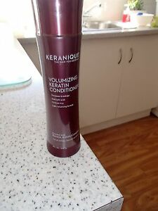 SALE= KERANIQUE VOLUMIZING KERATIN CONDITIONER=240ML-GOOD FOR DRY/ COLOURED Hair