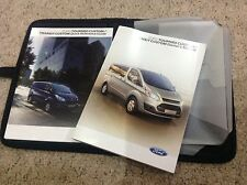 FORD TRANSIT TOURNEO CUSTOM  HANDBOOK OWNERS MANUAL  2013-2016 W61