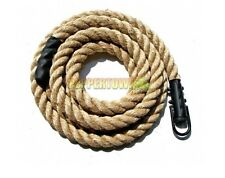 Extreme Jute Climbing Rope 10m CrossFit Obstacle Course Training Exercise