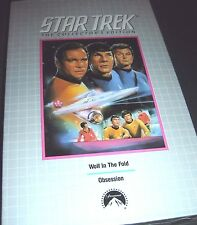Star Trek Wolf In the Fold & Obsession Collector's ED VHS NEW