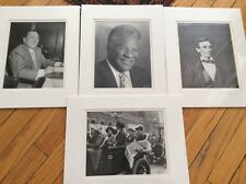 Vintage Photo Images Harold Washington & R Daley Mayor & Lincoln,Jane Adams