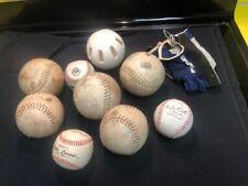 Lot of 8 Leather Softballs - Pearl Izumi Gloves- Wiffle