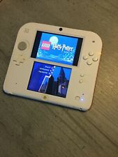 Nintendo 2DS Console & Harry Potter Year 1-4 - Red/White Plus Carry Case