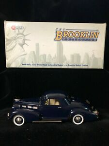 Boxed BROOKLIN Factory Special #8 1938 CADILLAC 60 Coupe Car Diecast Model 1/43